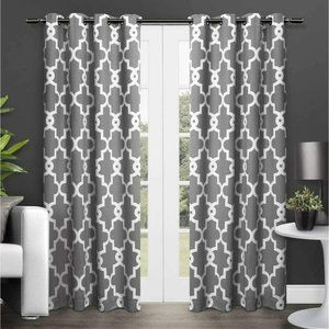 Exclusive Home Curtains Gates Sateen Blackout Ther